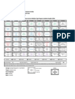 Matriz curricular Letras IFPB