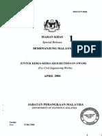 Jadual Harga Purata Bitumen 2005
