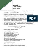 Occultisme-La Rose Croix,Lumière de l'Occident (H.Coutin).pdf