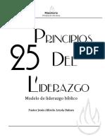 25 Principios del liderazgo