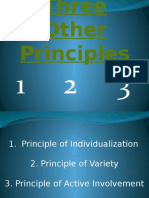 Three Other Principles.