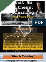 Fitness Training.