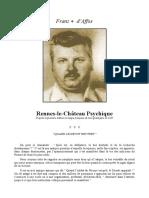 Archives Secrètes Du Prieuré De Sion - Rennes-Le-Chateau Psychique(Saunière,Da Vinci Code,Rennes-Le-Château,Rose Croix,Boudet,Symboles,Magie).pdf