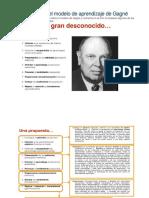 El Modelo FC y El Modelo de Aprendizaje de Gagné