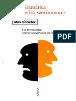 Scheler-Autonomia de La Filosofia