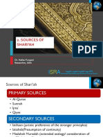 2. Sources of Shari'Ah
