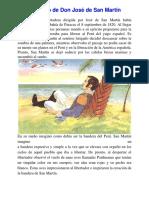 El Sueño de Don José de San Martín