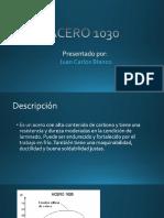 Acero 1030 - Juan Carlos Blanco