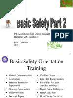 Basic Safety 2018 - Alamanda - Part 2