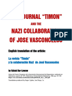 Nazi Collaboration of Jose Vasconcelos