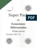 Ejercicios de ecuaciones diferenciales Universidad ESPOL Guayaquil-Ecuador