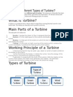 What Are Different Types of Turbine