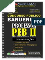 PEB II - PROFESSOR DE EDUCAÇÃO BÁSICA II
