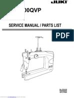 Juki TL-2200QVP Longarm Parts List