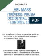 Biografía Marx