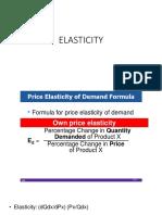 Elasticity  - Microeconomics