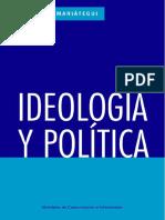 Mariategui Jose Carlos - Ideologia Y Politica.pdf