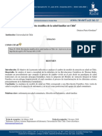 Parra D. Revolucion Cientifica de La Salud Familiar en Chile OBL