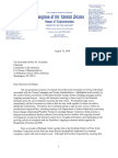 U.S. House Judiciary Ranking Member Nadler Letter to Chairman Godlatte Re Cohen and Pardon Power