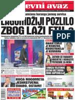 Dnevni Avaz 02.11.2012