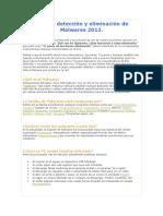 Guía de Detección y Eliminación de Malwares 2012