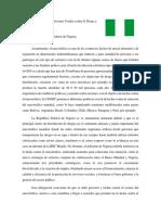 Position Paper Nigeria