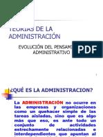 Presentacion de Teorias Administrativas