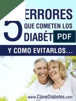5 Errores Que Cometen Los Diabeticos