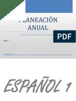 Plan anual español 1