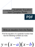 Finding a Quadratic Equation from Complex Roots.pdf