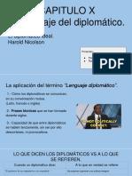 El Lenguaje Del Diplomático.