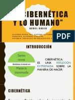 La Cibernética y Lo Humano