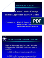 Career Ladder Concept at Nasa
