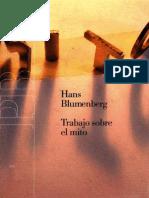 Blumemberg, Hans - Trabajo Sobre El Mito