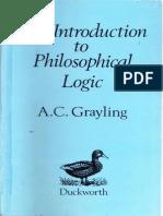Anthony C. Grayling-An Introduction to Philosophical Logic 2nd Ed-Duckworth (1990)