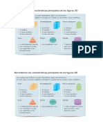 Caracteristicas de Las Figuras 3d