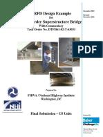 LRFD Design Steel Girder Superstructure