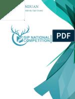Buku Panduan SIP National Competition