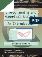 C Programming and Numerical Analysis