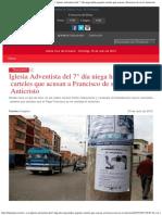 EL MUNDO - Diario Líder de Información en Bolivia - Iglesia Adventista del 7° d