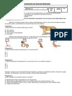 95075898 Evaluacion Cs Naturales Cuarto Basico