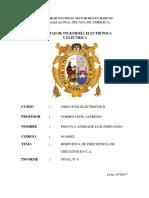 RESPUESTA DE FRECUENCIA DE CIRCUITOS EN C.A.- EXPERIENCIA N°6 FINAL