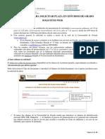 Instrucciones Preinscripción 2018