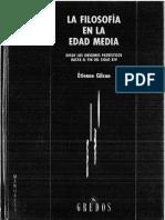 """Gilsón Étienne """"Filosofía en la Edad Media"""""""