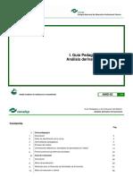 Guía Pedagógica Análisis derivativo de funciones