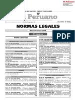 Normas legales agosto 2018