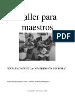 22 Taller Evaluacion de la Comprension Lectora.pdf