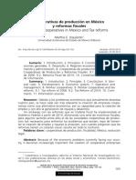 Cooperativas De Produccion En Mexico Y Reformas Fiscales