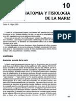 Anatomia Nariz y Faringe