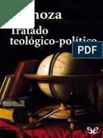 Spinoza, Tratado Teológico-político
